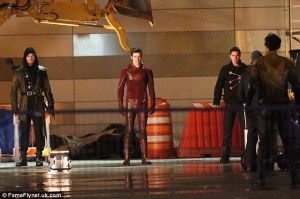 flash, arrow, firestorm